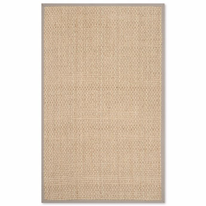 Alternate image 1 for Safavieh Natural Fiber Johanna 2-Foot 6-Inch x 4-Foot Accent Rug in Natural/Grey