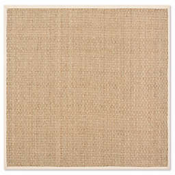 Safavieh Natural Fiber Johanna 8-Foot Square Area Rug in Natural/Beige