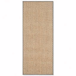 Safavieh Natural Fiber Johanna 2-Foot 6-Inch x 14-Foot Area Rug in Natural/Grey