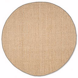 Safavieh Natural Fiber Johanna 8-Foot x 8-Foot Area Rug in Natural/Grey