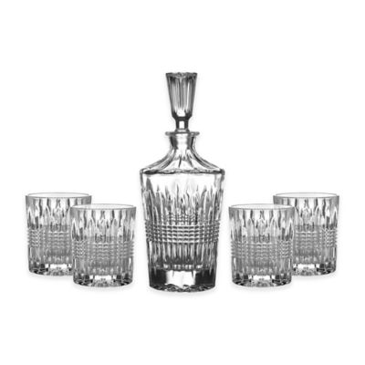Fitz And Floyd 174 Danbury 5 Piece Decanter Set Bed Bath
