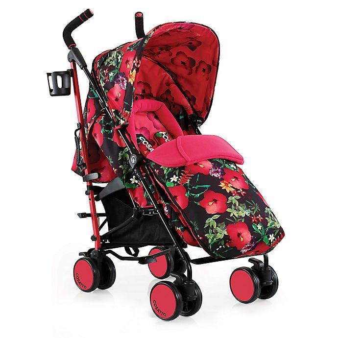 Alternate image 1 for Cosatto Supa Stroller in Tropico Pink/Black