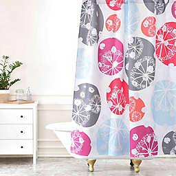 Deny Designs Rachael Taylor Snow Drops Shower Curtain