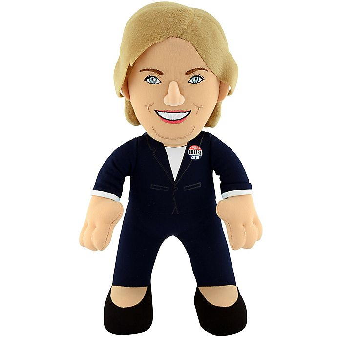 Alternate image 1 for Bleacher Creatures® Hillary Clinton Plush Figure