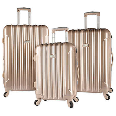 Kensie Metallic Hardside Spinner Luggage Collection