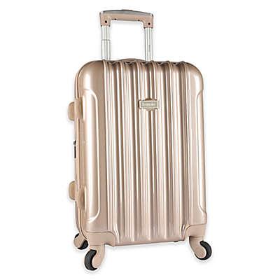 Kensie Metallic 20-Inch Hardside Spinner Carry On Luggage