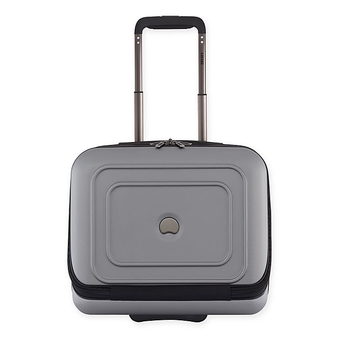 Alternate image 1 for DELSEY PARIS Cruise 21-Inch Hardside Underseat Luggage in Platinum