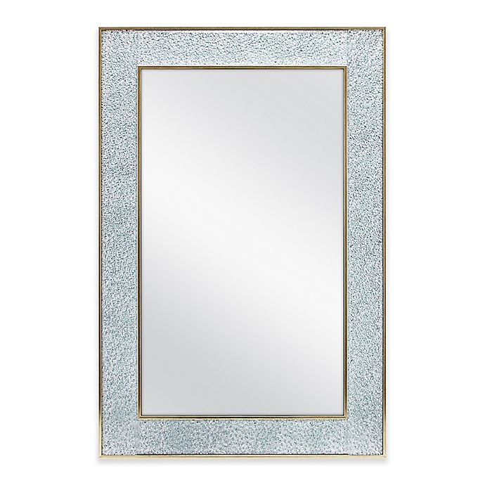 Alternate image 1 for Crushed Glass Wall Mirror