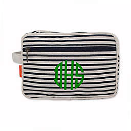 CB Station 9.5-Inch Lined Travel Kit in Navy Stripes