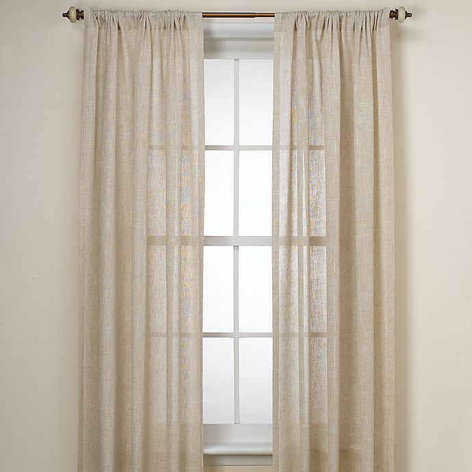 Alternate image 1 for B. Smith Barbados Natural Window Curtain Panel