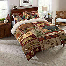 Laural Home® Lodge Collage Comforter