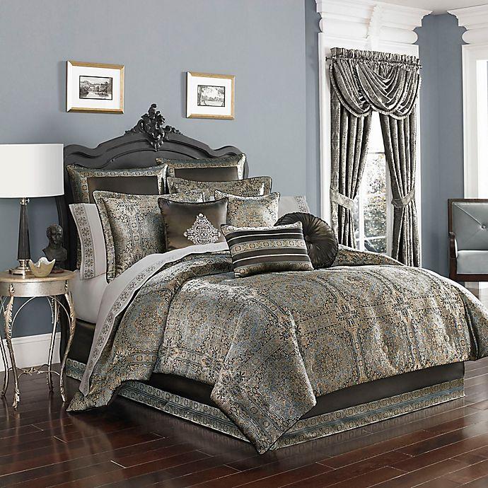 Comforter Sets Queen.J By J Queen New York Bridgeport Comforter Set In Spa Bed Bath