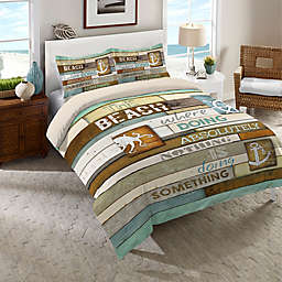 Laural Home® Beach Mantra Comforter