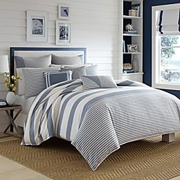 Nautica® Fairwater Duvet Cover Set in Medium Blue