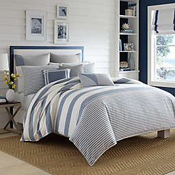 Nautica® Fairwater Duvet Cover Set in Medium Blue