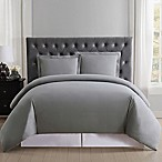 Truly Soft Everyday Full/Queen Duvet Cover Set in Grey