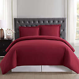 Truly Soft Everyday 3-Piece Full/Queen Duvet Cover Set in Burgundy