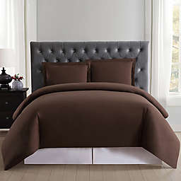 Truly Soft Everyday 2-Piece Twin XL Duvet Cover Set in Brown