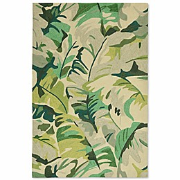 Liorra Manne Capri Palm Leaf Indoor/Outdoor Rug