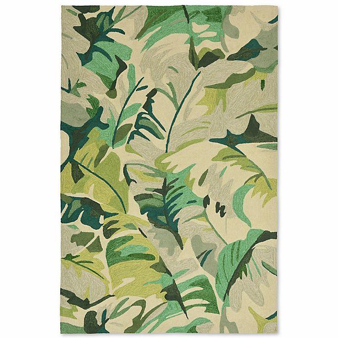 Alternate image 1 for Liorra Manne Capri Palm Leaf Indoor/Outdoor Rug