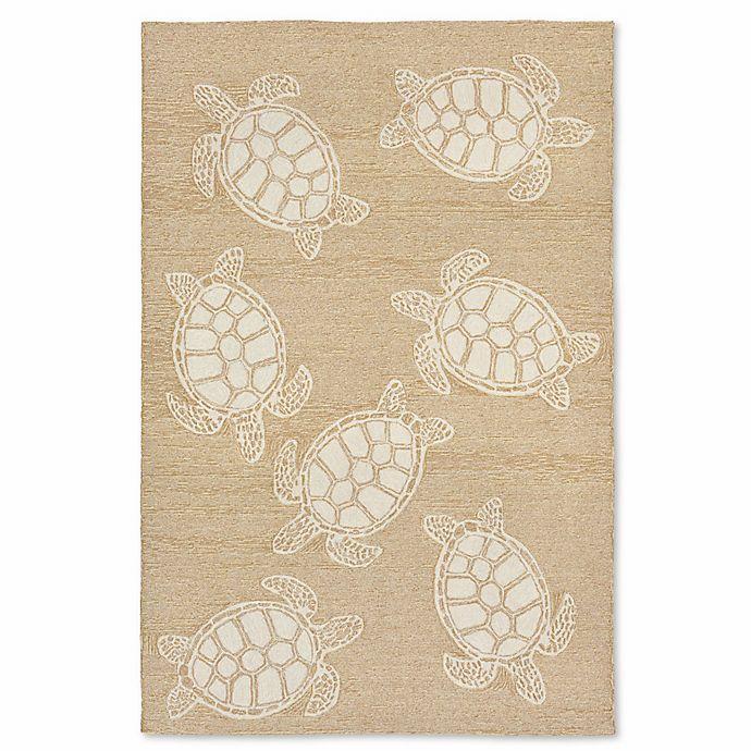 Alternate image 1 for Liora Manne Capri Turtle Indoor/Outdoor Rug
