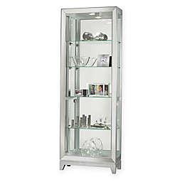 Howard Miller® Shayne Curio Cabinet in Silver