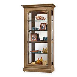 Howard Miller® Caden Curio Cabinet in Natural