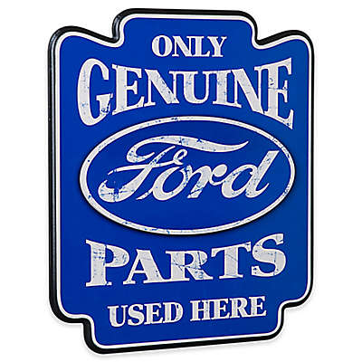 """Ford Genuine Parts"" Pub Sign Wall Art"