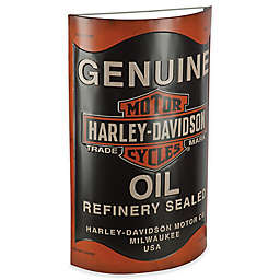 Harley-Davidson® Oil Can Metal Sign Wall Art