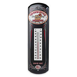 Busted Knuckle Garage Tin Thermometer