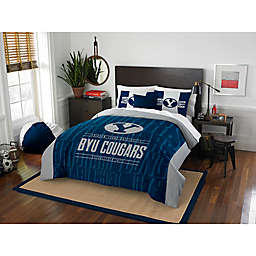 Collegiate Modern Take Brigham Young University Comforter Set