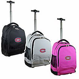 NHL Montreal Canadians 19-Inch Wheeled Backpack