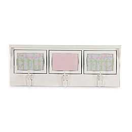 Glenna Jean Secret Garden Photo Hanger Shelf in White