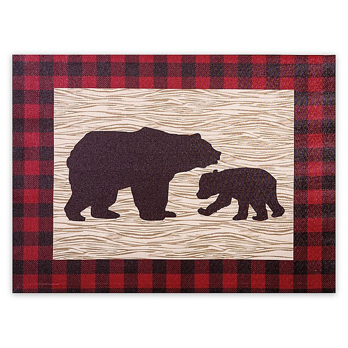 Trend Lab 174 Northwoods Bear Wall Art Bed Bath Amp Beyond
