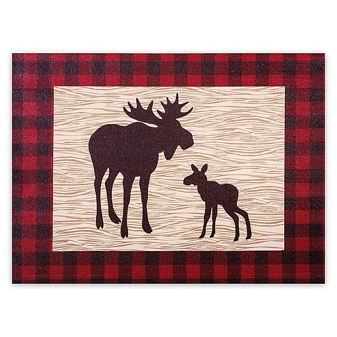 Alternate image 1 for Trend Lab® Northwoods Moose Wall Art