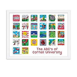 The ABCs of Cornell University 18-Inch x 24-Inch Poster Wall Art