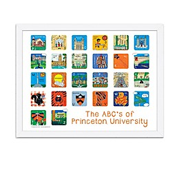 The ABCs of Princeton University 18-Inch x 24-Inch Poster Wall Art