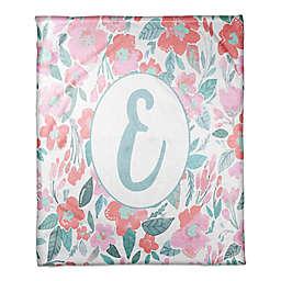 Designs Direct Little Lady Elegant Floral Throw Blanket