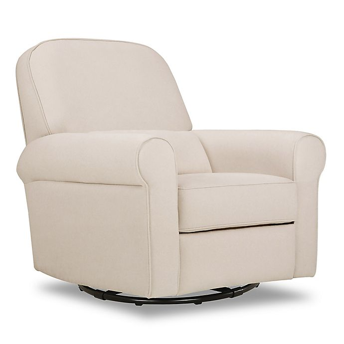 Alternate image 1 for DaVinci Ruby Recliner and Glider in Cream