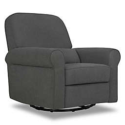 DaVinci Ruby Recliner and Glider in Dark Grey