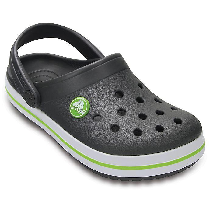 Alternate image 1 for Crocs™ Crocband™ Kids' Clog in Grey