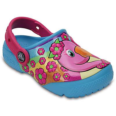 Crocs™ Flamingo Kids' Clog in Blue