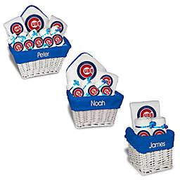 Designs by Chad and Jake MLB Personalized Chicago Cubs Baby Gift Basket