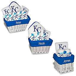 Designs by Chad and Jake MLB Personalized Kansas City Royals Baby Gift Basket