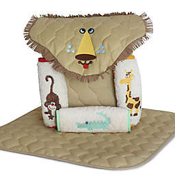 Silly Phillie® Lion 5-Piece Diaper Tote Gift Set in Tan