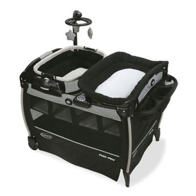 pack and play with bassinet and changing table