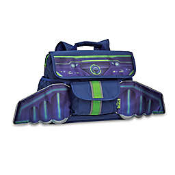 Bixbee Space Racer Backpack in Blue/Green