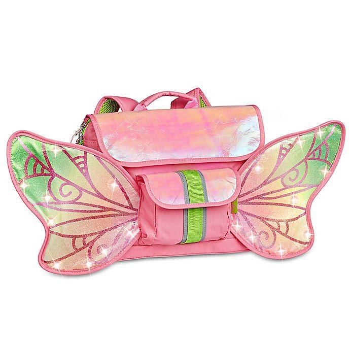 Alternate image 1 for Bixbee Fairy Flyer Backpack in Pink