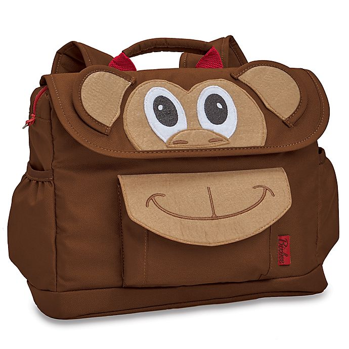 Alternate image 1 for Bixbee Monkey Pack Backpack in Brown