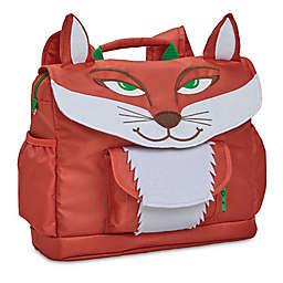 Bixbee Fox Pack Backpack in Red/White
